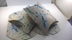 10 dragonfly boxes, Pillow Boxes, Pillow Boxes, Party Boxes, Favour Boxes, Gift Boxes, Boxes, Jewellery Gift Boxes, Jewelry Gift Boxes.