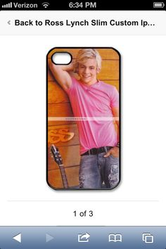 Ross Lynch iPhone case WANT