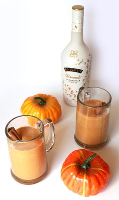 Pumpkin Spice Adult Milkshake. This fall dessert recipe is dairy-free and gluten-free, using the new Bailey's Almande liqueur.