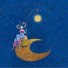 """""""Le soleil et la lune"""", de Marie Cardouat"""