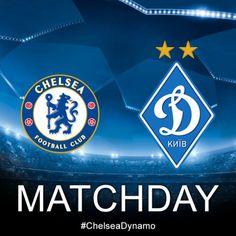 #Matchday. #Chelsea - #Dynamo #UCL #ChelseaDynamo
