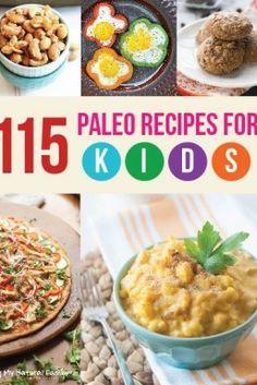 115 Paleo Recipes for kids