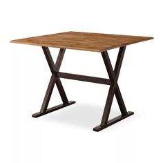 "40"" Drop Leaf Rustic Dining Table Brown - Threshold™ : Target"