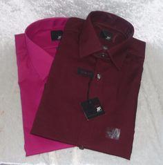 J Ferrar men's dress shirt slim fit size S1 4-14.5, L 16-16.5, XL 17-17.5 NEW 16.99 http://www.ebay.com/itm/J-Ferrar-mens-dress-shirt-slim-fit-providence-pink-size-S14-14-5-L16-16-5-NEW-/261654179191?