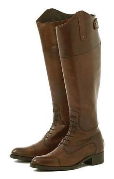 House of Bruar Ladies ~ Hand lasted traditional leather boots.