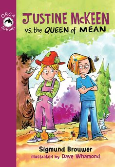 the Queen of Mean by Sigmund Brouwer and illustrated by Dave Whamond Fiction And Nonfiction, Anti Bullying, Angels, Teen, Reading, Fall, Illustration, Shirt, Pink