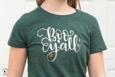 DIY Halloween T-Shirts & Cricut EasyPress Review - The Polka Dot Chair