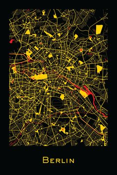 Viewed together these colorful and impressionistic maps depict the organic evolving nature of the urban landscape. Star Chart, City Maps, Map Design, Urban Landscape, Map Art, Impressionist, Landscape Architecture, Concept Architecture, Classical Architecture