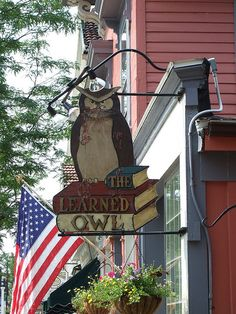 The Learned Owl, Hudson Ohio - loved this one when I was in high school!