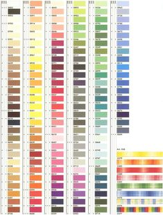mettler sewing thread chart - Gutermann Thread Color Chart