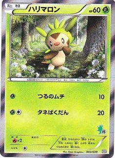 Pokemon 2013 XY Girls Starter Set Chespin Holofoil Card #003/039
