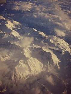 In volo, Alpi