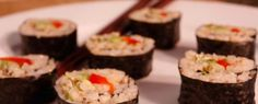 Avocado Sushi with Brown Rice
