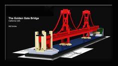LEGO Ideas - The Golden Gate Bridge
