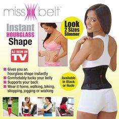 2257c62ac5ba7 Miss Belt Waistline Body Shaper. Miss Belt Waistline Body Shaper Hourglass  ...