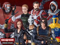 Comic Movies, Marvel Movies, Crimson Dynamo, Batgirl, Best Action Figures, Black Widow Movie, Marvel Comic Universe, Marvel Legends Series, Captain America Wallpaper