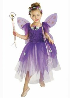 Kids Size Plum Pixie Purple Fairy Costume  sc 1 st  Pinterest & FAIRY DRESS -- Lilac Purple Fairy Princess Custom dress for girls ...