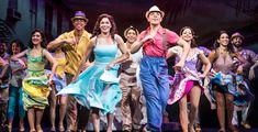 Christie Prades as Gloria Estefan, Adriel Flete and the company of the Broadway On Tour presentation of ON YOUR FEET! 2018 at the Sacramento Community Center Theater. Photo by Matthew Murphy. Theatre Geek, Broadway Theatre, Musical Theatre, Theater, John Waters, Wayne Dyer, Musical Hairspray, Charlie Brown, St Louis