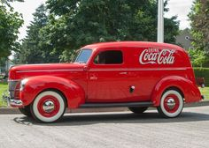 1940 Ford Coke Delivery Vehicle