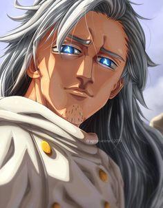 Nanatsu no taizai chapter 340 Merlin by on DeviantArt Seven Deadly Sins Anime, 7 Deadly Sins, Itachi, Naruto, 4 Archangels, Meliodas Vs, Pokemon Champions, Seven Deady Sins, Demon King