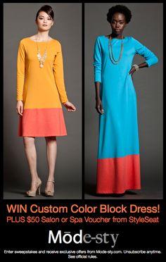 Haute Muslimah: Win a New Fall Wardrobe from Mode-sty.com!