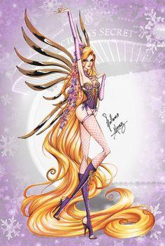 Victoria's Secret Disney Princesses Designs http://geekxgirls.com/article.php?ID=8106