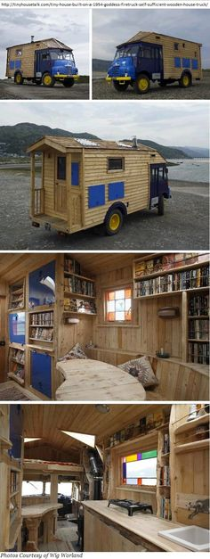 BETTER THAN A BED-SIT ... pictures of really cool mobile homes/campervans - Page 2