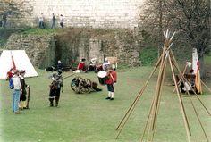 File:Civil War reconstruction, York Castle