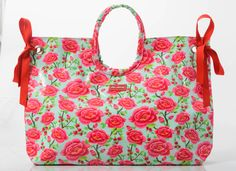 Carry your beach essentials in style in this water-resistant tote. An ample interior gives you room for your belongings (including bulky towels), and the bag includes both carrying handles and a shoulder strap for versatility. Lunch Box Cooler, Beach Essentials, Red Turquoise, Cosmetic Bag, Diaper Bag, Shoulder Strap, Take That, Cosmetics, Wallet