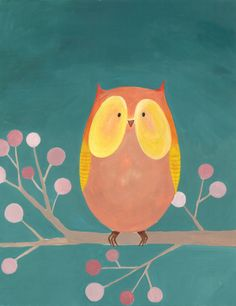 'Little Owl' by Erin Davis