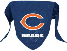 Chicago Bears Bandana XX-Small