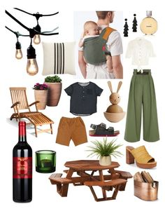 """""""Rooftop party"""" by stephaniedieppa on Polyvore featuring Bulbrite, Pottery Barn, DutchCrafters, Vifah, BaubleBar, River Island, Frye, iittala, Plow & Hearth and Chanel"""