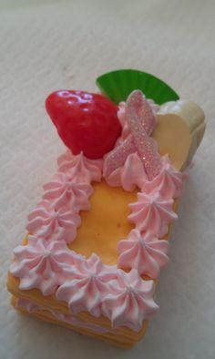 Kawaii+cake+keychancell+phone+charm+cake+with+breast+by+josmoon,+$8.00
