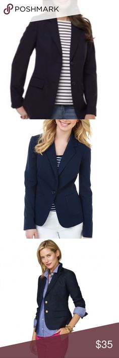 Limited Navy Blazer Limited Navy Blazer used only once ❤️ material Shell: 62% polyester 33% viscose 5% spandex Lining: 100% polyester made in Vietnam 😍❤️ if you have any questions please ask Jackets & Coats Blazers