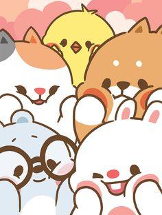 Kawaii Tonton and Friends || Cheek Cuteness