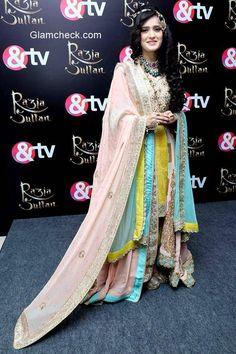 pankhuri awasthi in razia sultan...&tv
