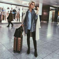 "Caroline Daur on Instagram: ""Here we go - off to Berlin ✈️✈️✈️"""