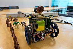 XMOS startKIT: Building an XMOS and Raspberry Pi Robot XMP-1