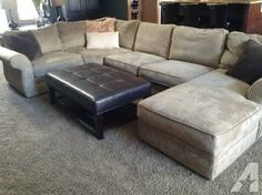 Pottery Barn | Pearce Sectional in silver taupe (perfect sofa and so comfortable) | Fall Redo | Pinterest | Taupe Pottery and Barn : pottery barn pearce sectional - Sectionals, Sofas & Couches
