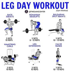 Gym Workouts For Men, Leg Day Workouts, Lifting Workouts, Gym Workout Videos, Weight Training Workouts, Gym Workout For Beginners, Track Workout, Chest Workouts, Fit Board Workouts