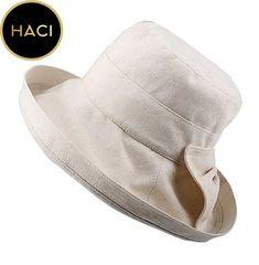 0a687576255  Haci Bowler Linen Fashion Design Foldable Travel Hat