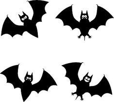 Murciélagos de Halloween para imprimir - printable bat