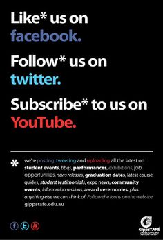 Social media flyer Example