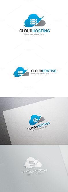 Cloud Hosting Logo. Logo Templates. $24.00