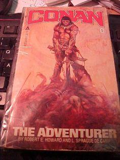 Vintage Conan  the Adventurer  isbn 0441115985 pbb  VG by MAYSVTG, $6.95