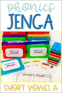 Jenga Game Cards: Engaging Math & Literacy Center Activities for the Classroom - Life Between Summers