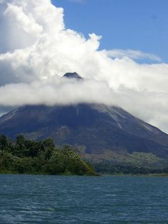 Arenal volcano!  Costa Rica - Erin & Greg's wedding, so cool to have been there!