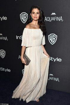 Awesome Selena Gomez White Dress 2017-2018