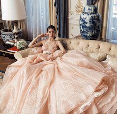 runwayandbeauty:  Mona Matsuoka in Haute Couture for Marie Claire China 2015.