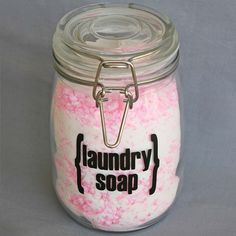 DIY powder laundry soap  Comments at http://www.onegoodthingbyjillee.com/2012/01/complete-photo-guide-to-making-your-own.html: DIY powder detergent doesn't work in cold water cycles, but DIY liquid (this stuff) works fine, because the soap has already been dissolved.